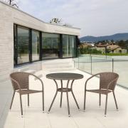 Комплект мебели T282ANT-Y137C-W56 Light Brown 2Pcs
