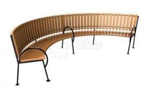 Садово-парковая скамейка «Округ»