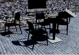 Кресло (искусственный раттан) код 820