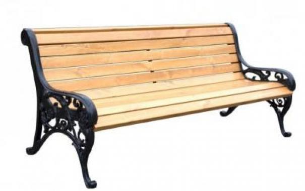 Скамейка чугунная «Балет»