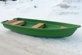 Стеклопластиковая лодка  Тортилла-4 ЭКОНОМ