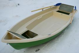 Стеклопластиковая лодка Тортилла-4 с рундуками